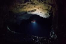 Автономный дрон для картографирования шахт и пещер