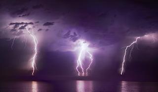 Альтернативная навигационная система основана на данных о молниях