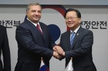 Министра Южной Кореи пригласили ознакомиться с использованием системы ГЛОНАСС