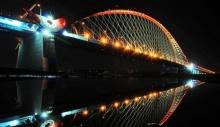 Мост в Новосибирске подключат к ГЛОНАСС