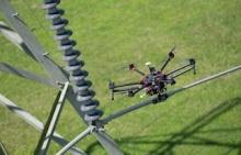 Екатеринбург: Энергетики применяют дроны для мониторинга состояния ЛЭП