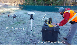 Оценка точности дистанционного зондирования с помощью автономных дронов