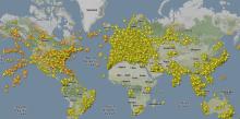 За самолетами приглядят из космоса