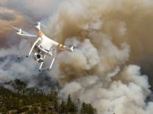 Дроны помогут в обнаружении лесных пожаров