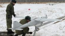 Беспилотники контролируют проведение военных учений